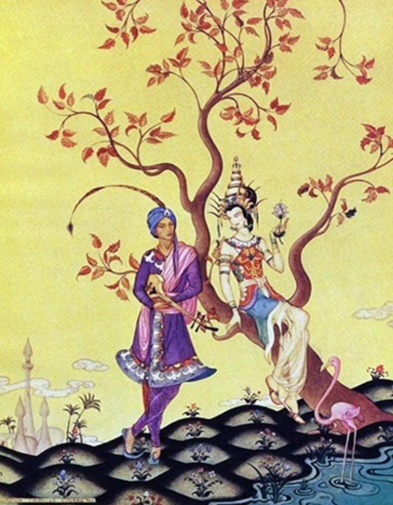 The Arabian Nights by Virginia Frances Sterrett