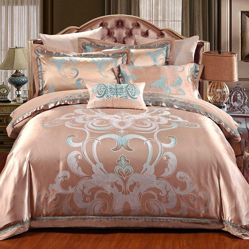 Rose Gold King Size Bedding Bedspread Bedroom Sets Bedding