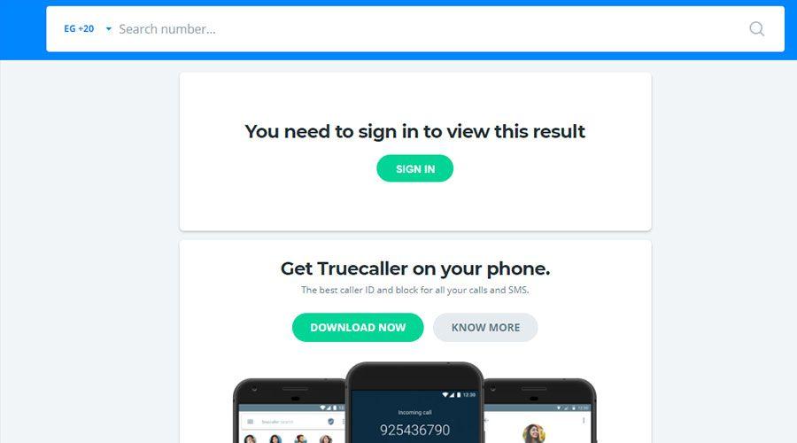 أسهل طريقة لمعرفة اسم صاحب الرقم المتصل المجهول أون لاين أو من خلال تطبيق تروكولر 2018 Caller Id Phone Sms