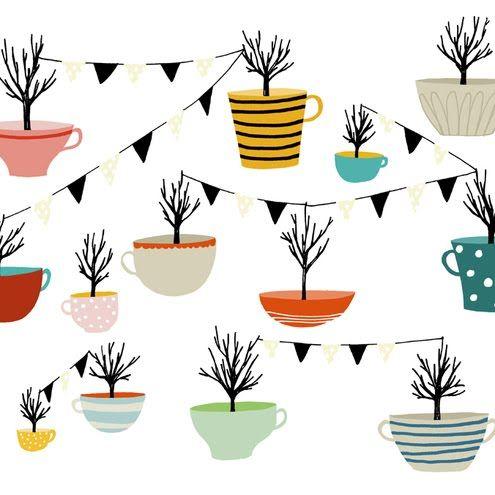 Tea Cup Trees