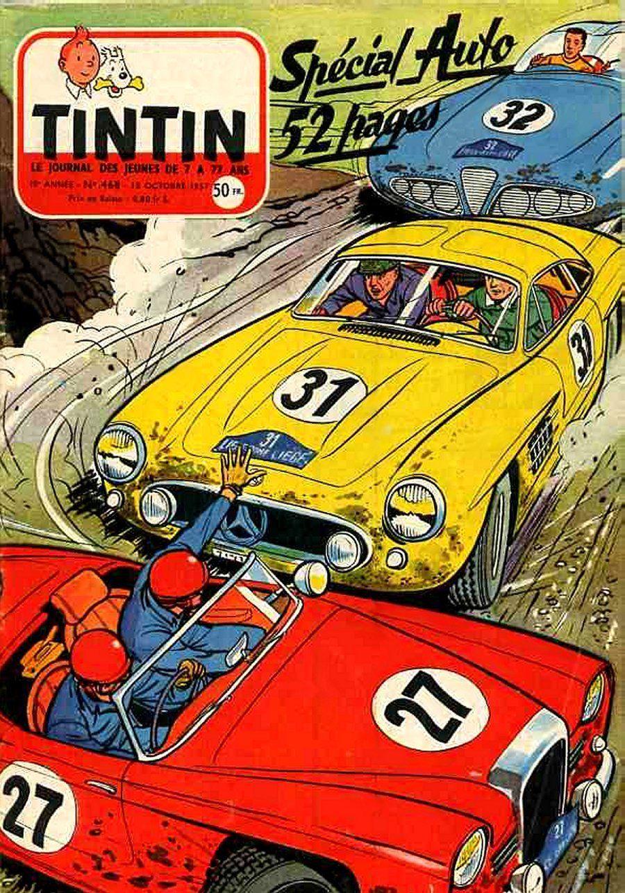 Le Neuvième Art: Les voitures de courses font la ...