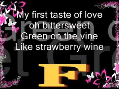 Strawberry Wine Deana Carter Guitar Capo 1st Fret Lyric Chord