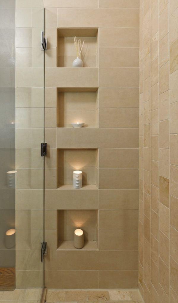 Shower Caddy The Necessary Equipment In Every Bathroom Shower Niche Shower Shelves Trendy Bathroom