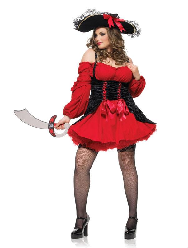Sexy Women's Plussize Pirate Dress , #HalloweenCostume On Sale #ad ...