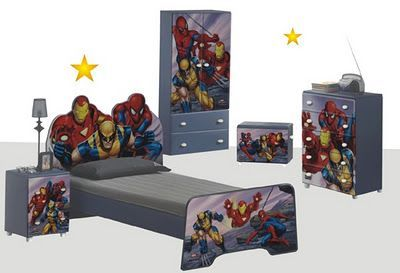 28 Teen Boy Bedding Sets with Superheroes Marvel Themed | Bedroom ...