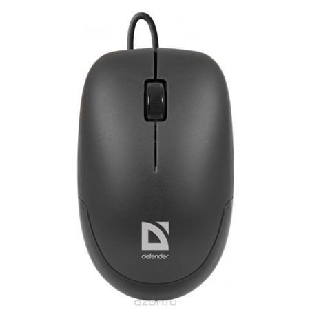 """Defender Datum MM-010, Black USB мышь  — 240 руб. —  Defender Datum MM-010 - бюджетная мышь симметричной формы. Идеальный выбор для ноутбука. Удобна при транспортировке. Высокое разрешение (1000 dpi) является оптимальным при работе с экранами 9 - 22""""."""