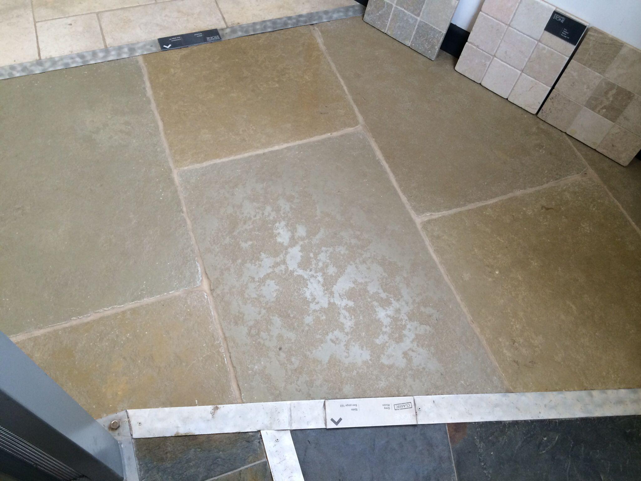 Jaipur Brushed Tiles - Mandarin Stone