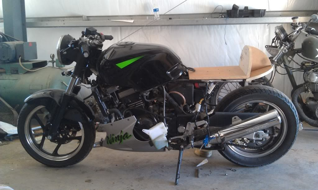 New Member And Project Ninja 250 Cafe Racer Motos Ninja