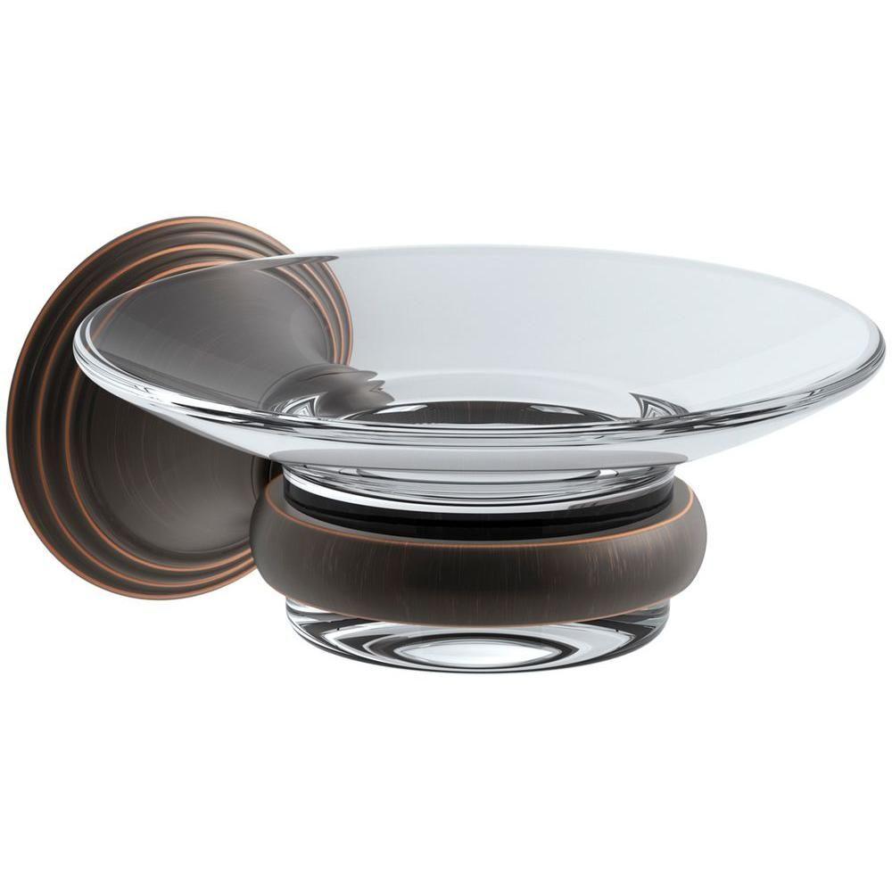 KOHLER Devonshire Soap Dish in Oil-Rubbed Bronze | 1/2 bath | Pinterest
