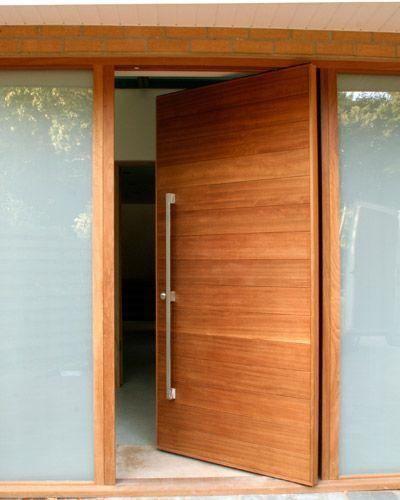 iroko = wood type. never even heard of it but like it | front door ...