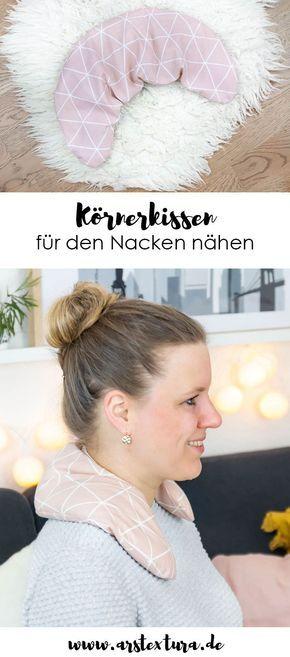 Photo of Nähen Sie Getreidekissen für den Hals ars textura – DIY Blog