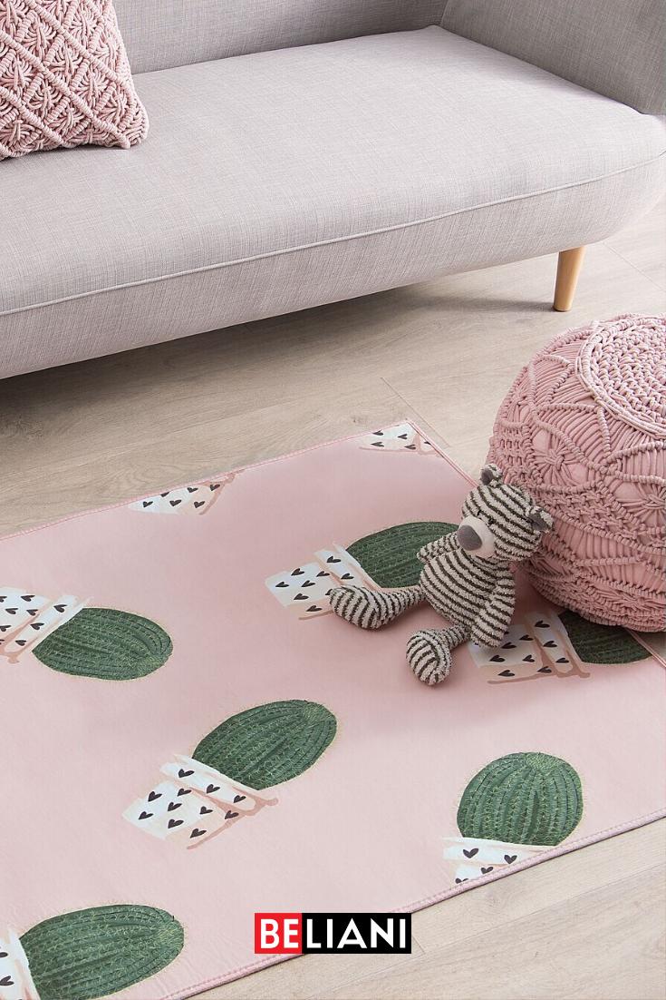 22 Kinderzimmer teppich rund rosa