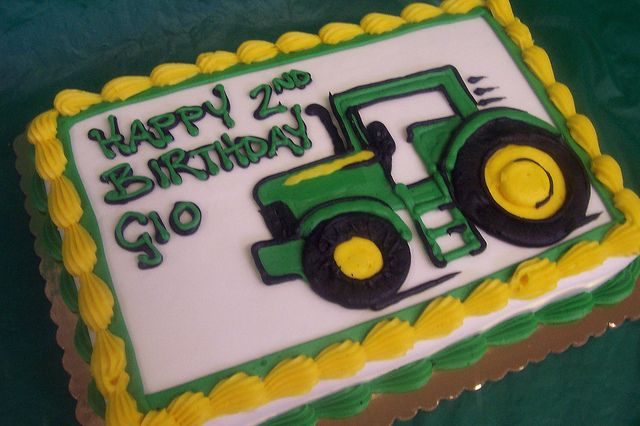 Tractor Cake Tractor birthday Tractor and Birthdays