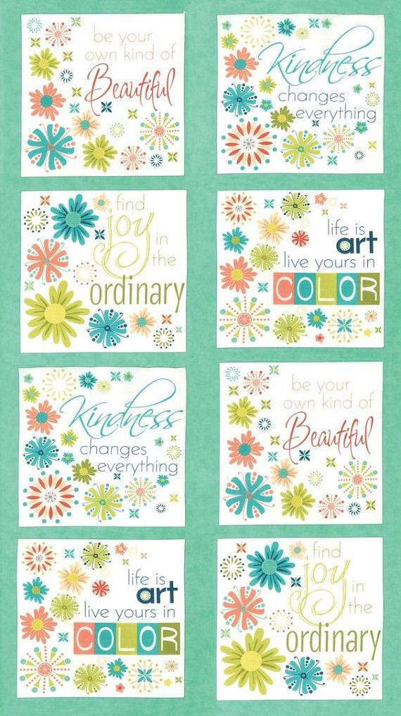 """Moda FABRIC Charm Pack ~ WELL SAID ~ by Sandy Gervais  42-5/"""" squares"""