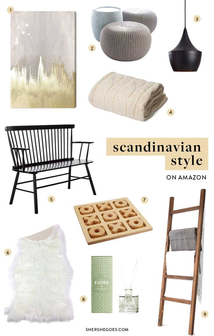 During my travels throughout Scandinavia, I absolutely fell in love with the minimalist aesthetic found throughout Scandinavian home decor. Keep reading for the best of Scandinavian Interior Design and Furniture! #Amazon #AmazonHome #AmazonHome finds #Scandinavia #ScandinavianFurniture #interiordesign Amazon furniture, Amazon home, Scandi style, Scandinavian design, Scandinavian furniture