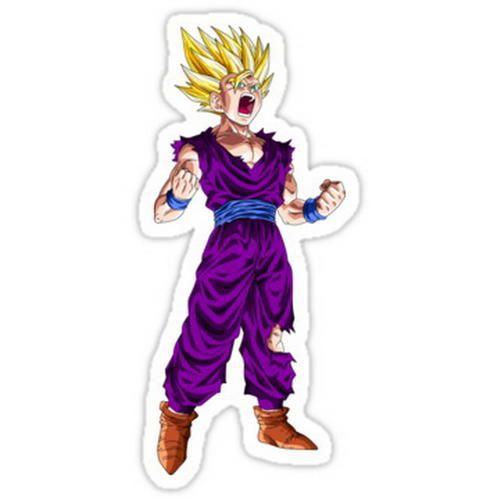 Dragon ball z dragons anime gohan sticker shop wall sticker shirts car decals stickers