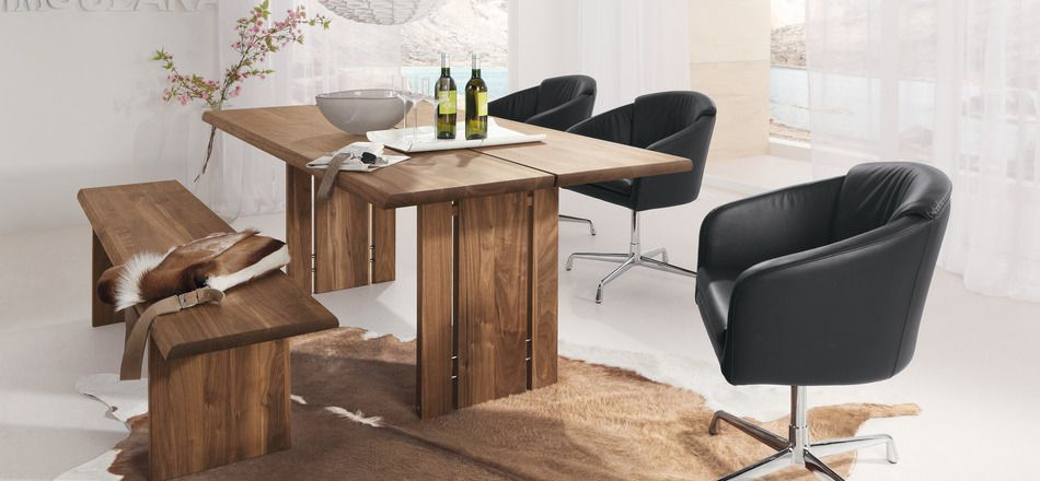 Room  6 rustic modern dining table 29 Modern Dining Rooms To Get Inspired From Rustic