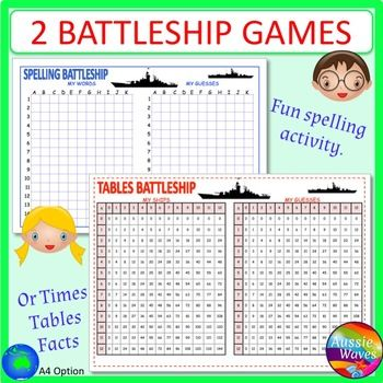 image relating to Fun Printable Games known as BATTLESHIP Printable Sport community forums master SPELLING Moments