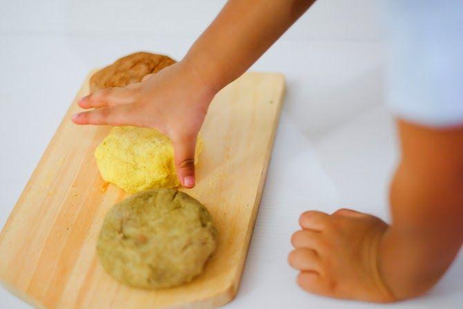 Herb Spice Playdough Makanan Pewarna Makanan Play Dough