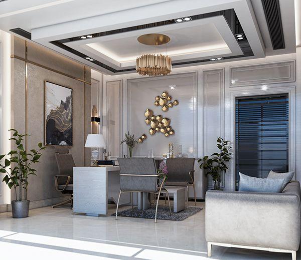 New Classic Office Design Al Riyadh , KSA On Behance