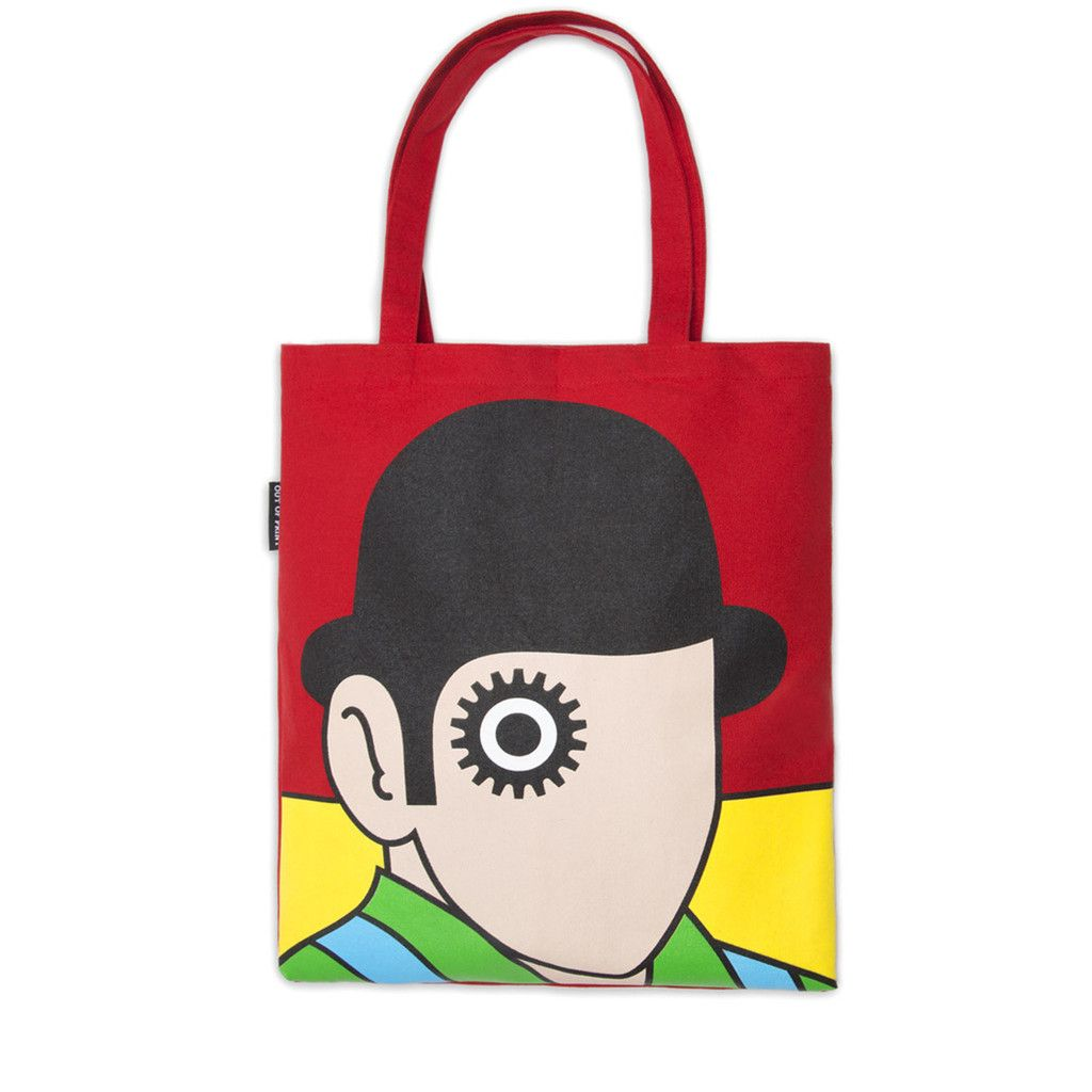 0a91982b40b Clockwork Orange Tote Bag | NYPL Gifts | Orange tote bags, Printed ...