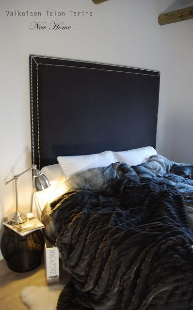 DIY-sängynpääty..tämän toteutan harmaana :)