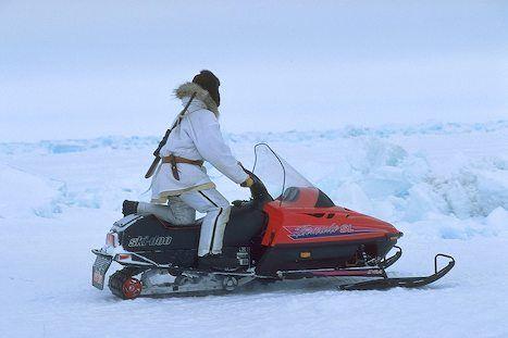 Alaska snowmachine | indeepalaska