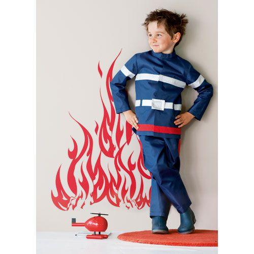 d guisement pompier 6 8 ans oxybul d guisement enfants pinterest deguisement pompier. Black Bedroom Furniture Sets. Home Design Ideas
