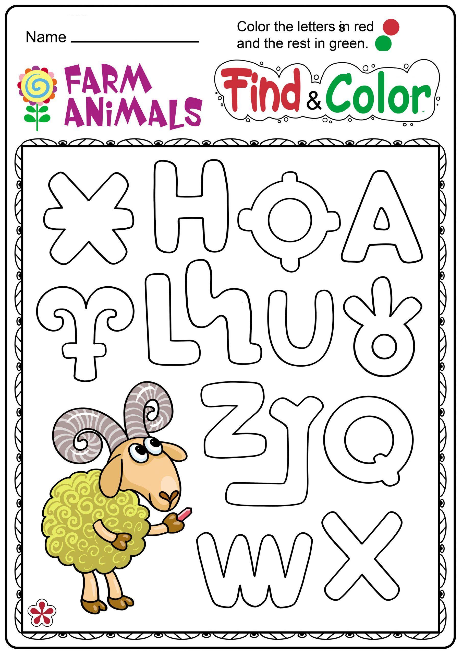 6 Domestic Animals Worksheets Free Printable Farm Animals And Letters Worksheet For Ki Kindergarten Worksheets Animal Worksheets Letter Worksheets Kindergarten [ 2560 x 1810 Pixel ]