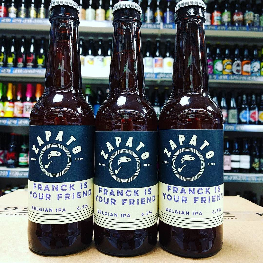 New Beer Franck Is Your Friend 6 5 Belgian Ipa From