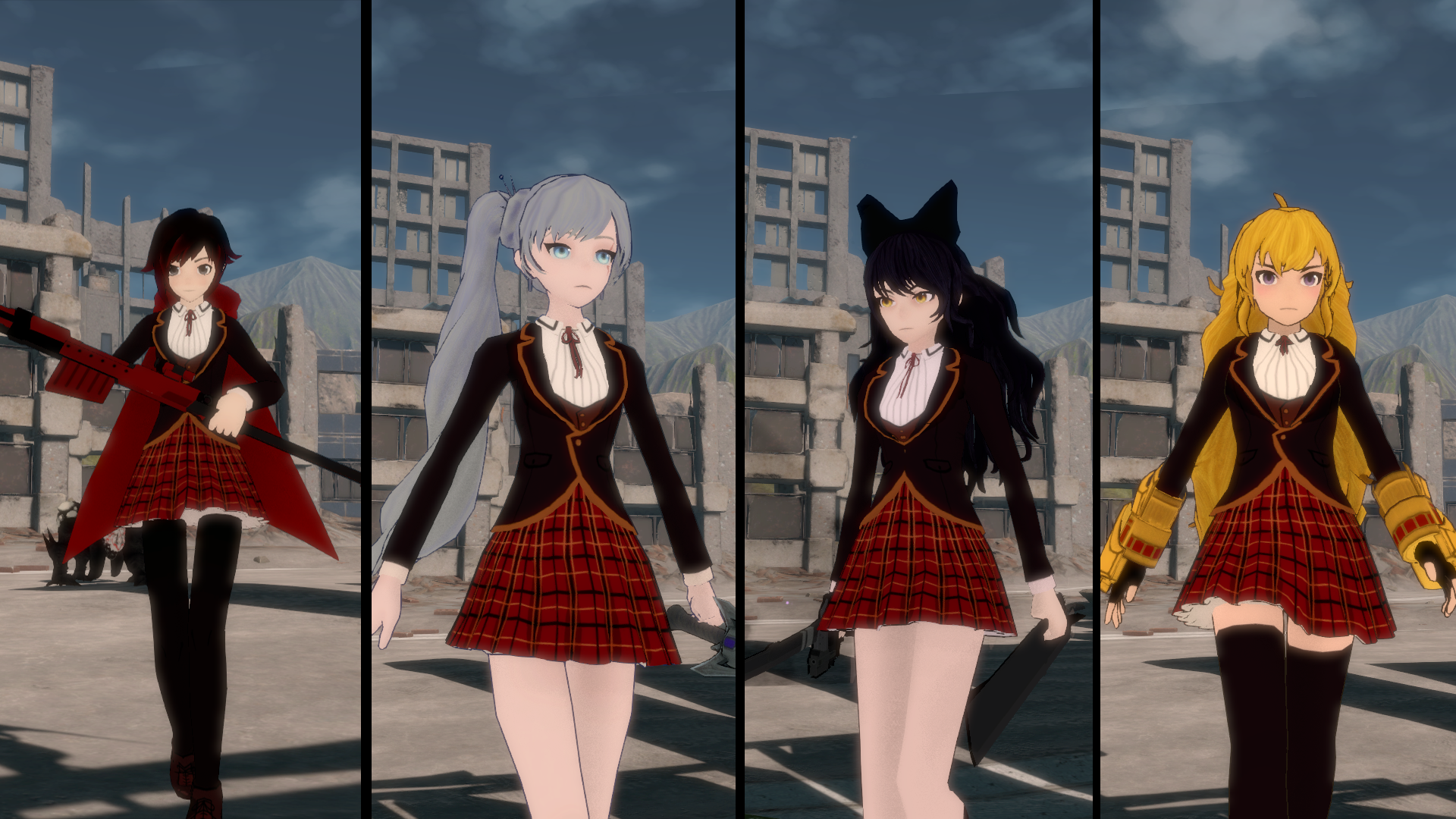 RWBY: Grimm Eclipse :: Costumes Packs Available This Friday
