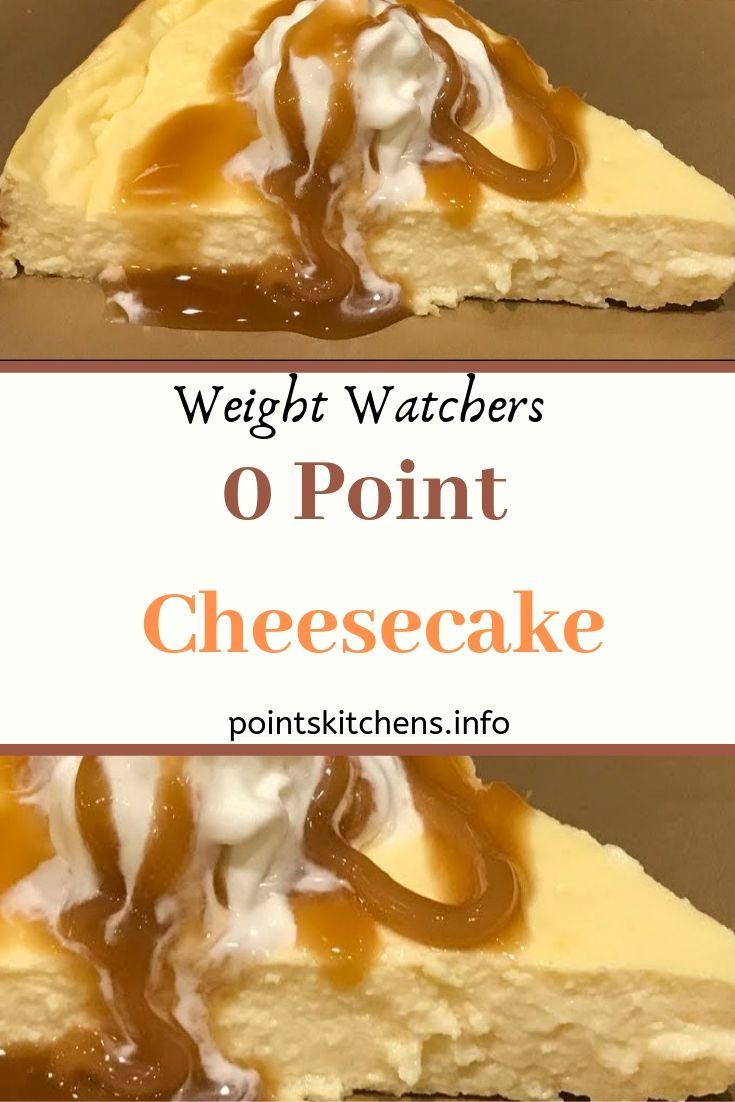 Zero Point Cheesecake recipe // #Weight_Watchers // # ...