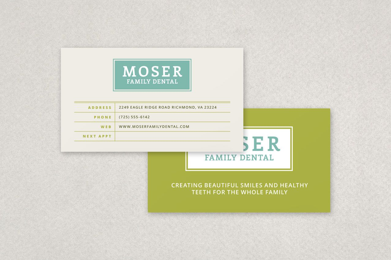 Dental Appointment Business Card Template Sample Inkd Business Cards Creative Templates Business Card Template Design Business Card Template