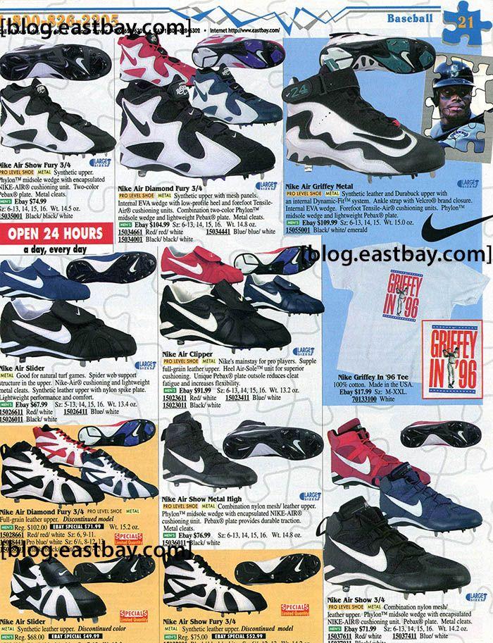 new styles 8c789 a3f13 ... Low Carolina Blue LEFT SHOE ONLY Amputee OG VTG Eastbay Memory Lane Nike  Air Diamond Fury Nike Ken Griffey Jr ...