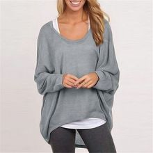 2015 Spring Autumn Women Blouse New Fashion Long Sleeve Casual Loose Solid Shirt Sexy Tops 9 Colors Plus Size Blusas Femininas(China (Mainland))