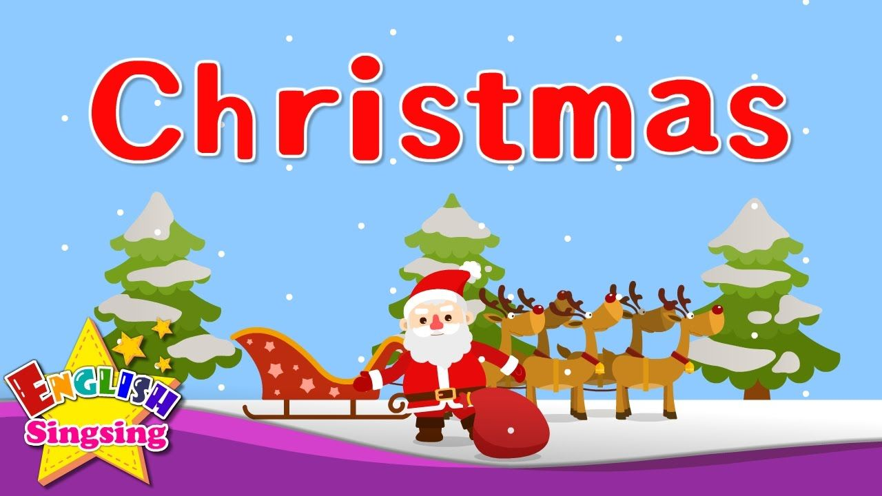Kids vocabulary - Christmas - Christmas vocab - Learn English for ...