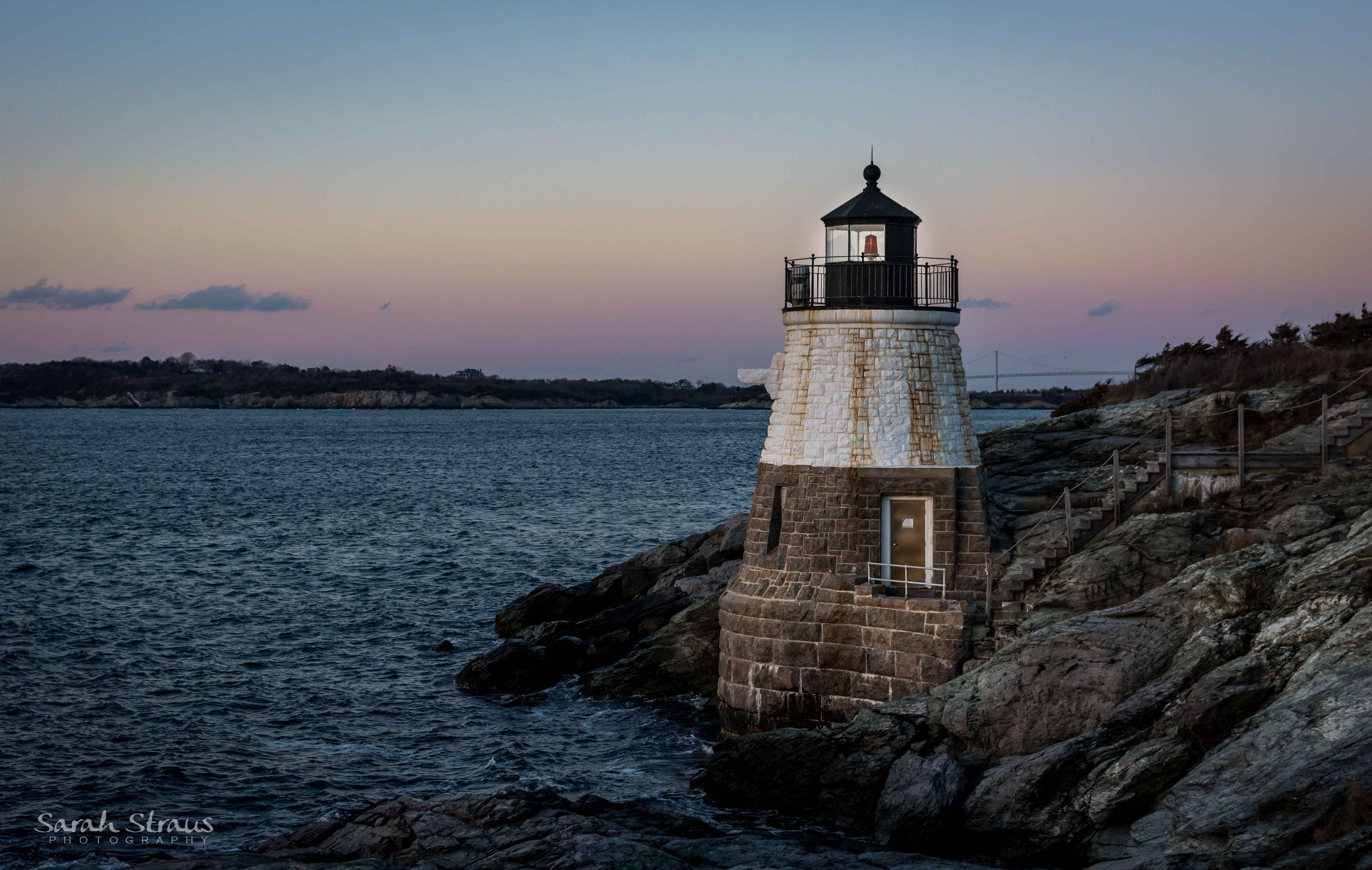 Surprising Castle Hill Lighthouse Newport Ri New England Winter Download Free Architecture Designs Scobabritishbridgeorg