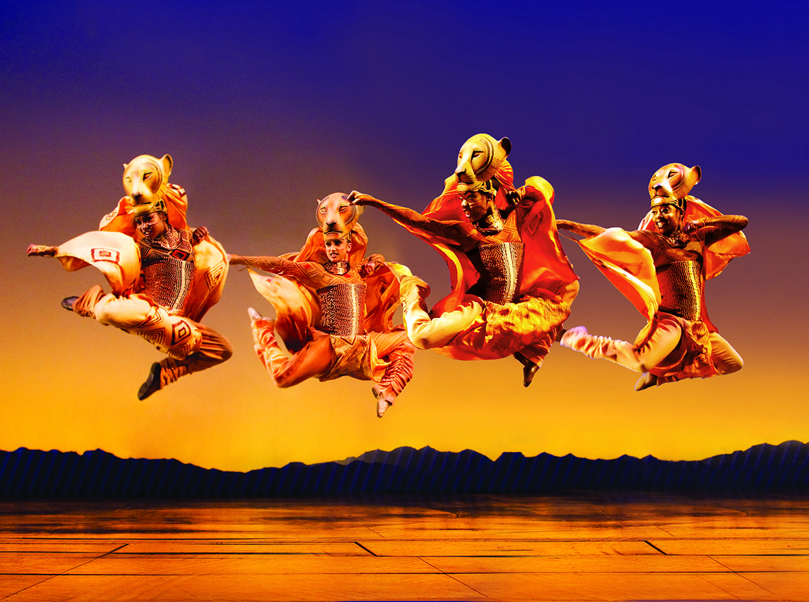 Disney S The Lion King At London S Lyceum Theatre Lionesses Http