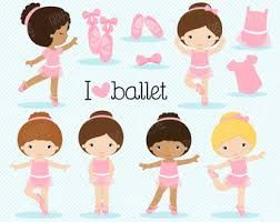 Resultado de imagem para ballerina clipart