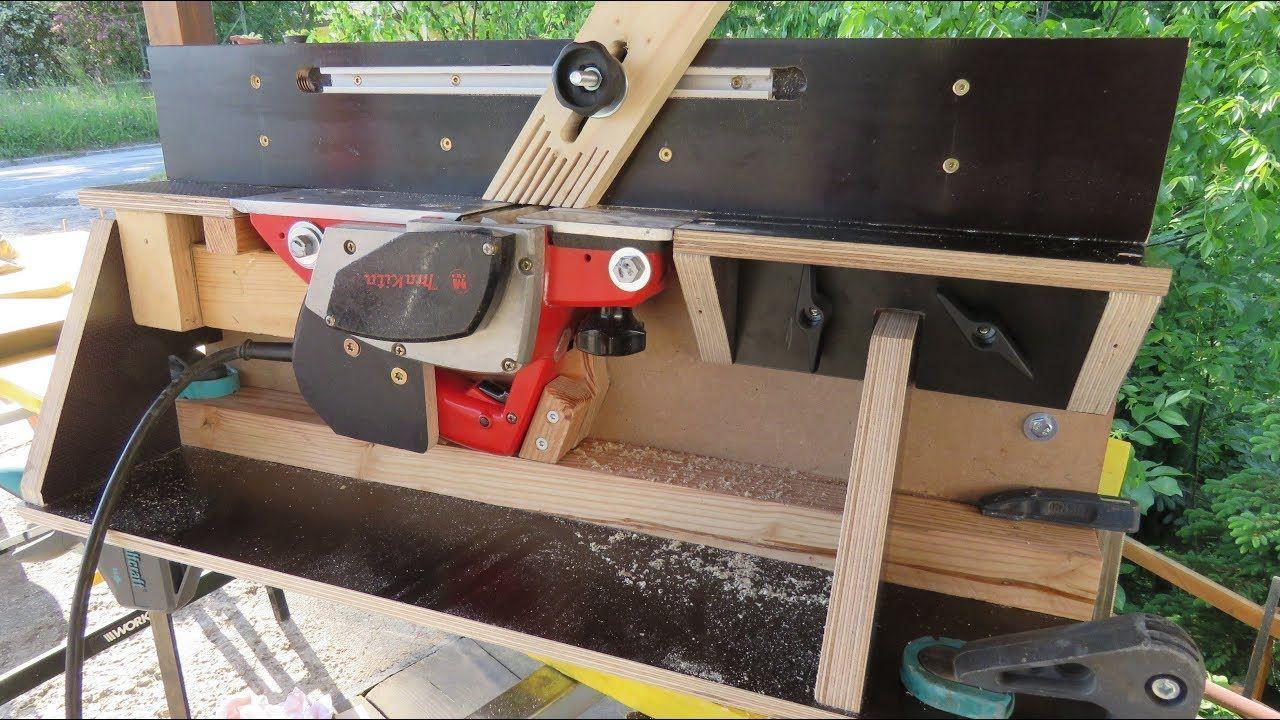 abrichte mit einem elektrohobel | woodworking, tools & tips