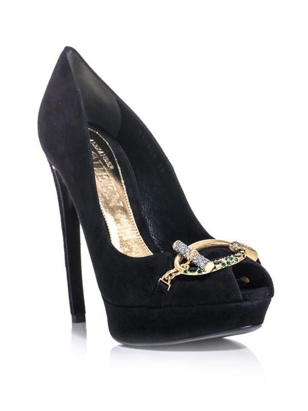 0cf0b905af80 Alexander McQueen  shoes  heels  pumps buckle 50% OFF!