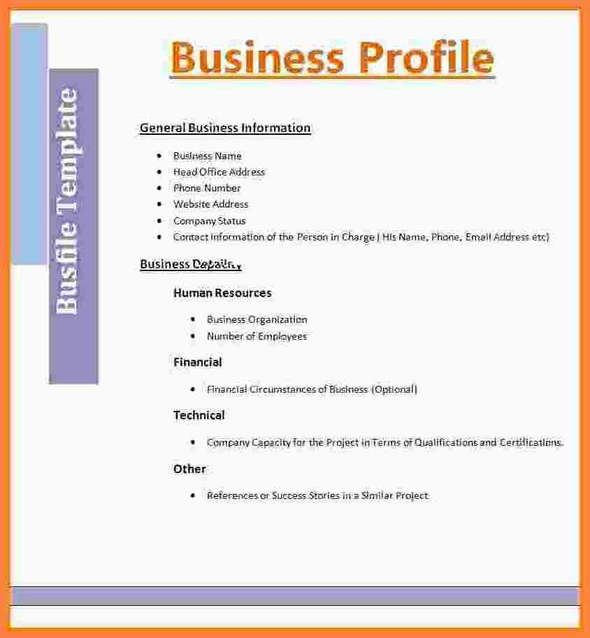 Image Result For Construction Company Business Profile  Company