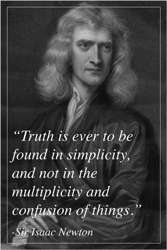 SIR ISAAC NEWTON English Physicist Mathematician QUOTE POSTER Inspires  24X36 Brand New. 24x36 Inches.