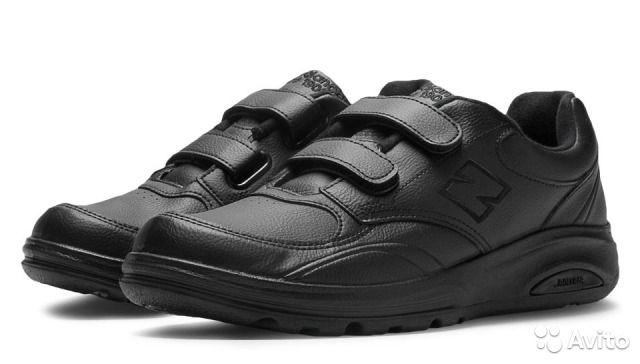 ca32e6cc Повседневные кроссовки на липучках NEW BALANCE оригинал, модель USA 812  Walking, арт.:MW812VK. Цвет:чёрные(Black). Без продуктов животного  происхождения(не ...