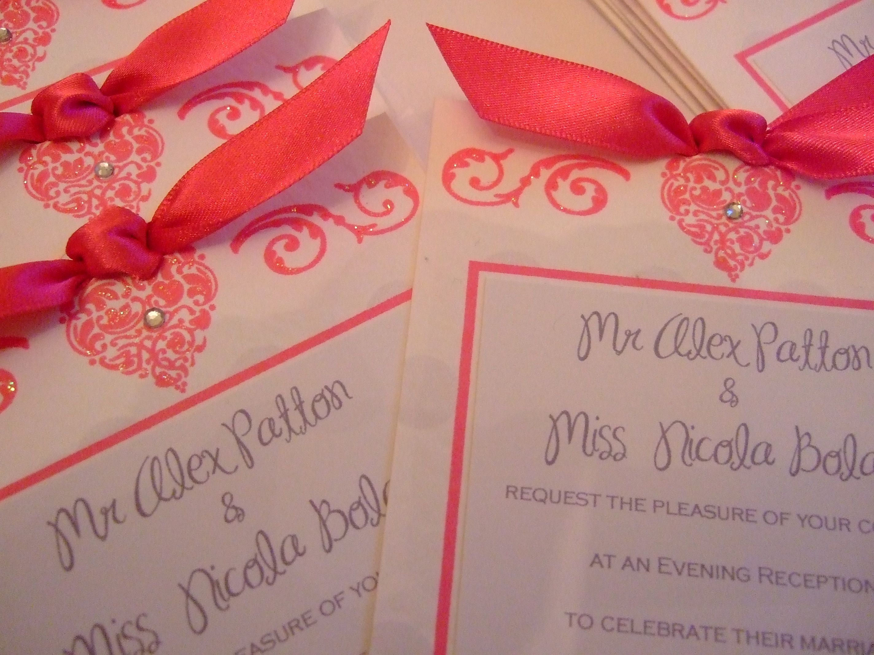 Fancy How To Word Wedding Reception Invitations Adornment ...