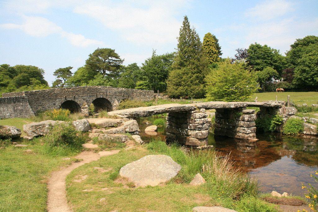 Clapper Bridge At Postbridge Dartmoor Devon Forever England Cornwall Devon Somerset
