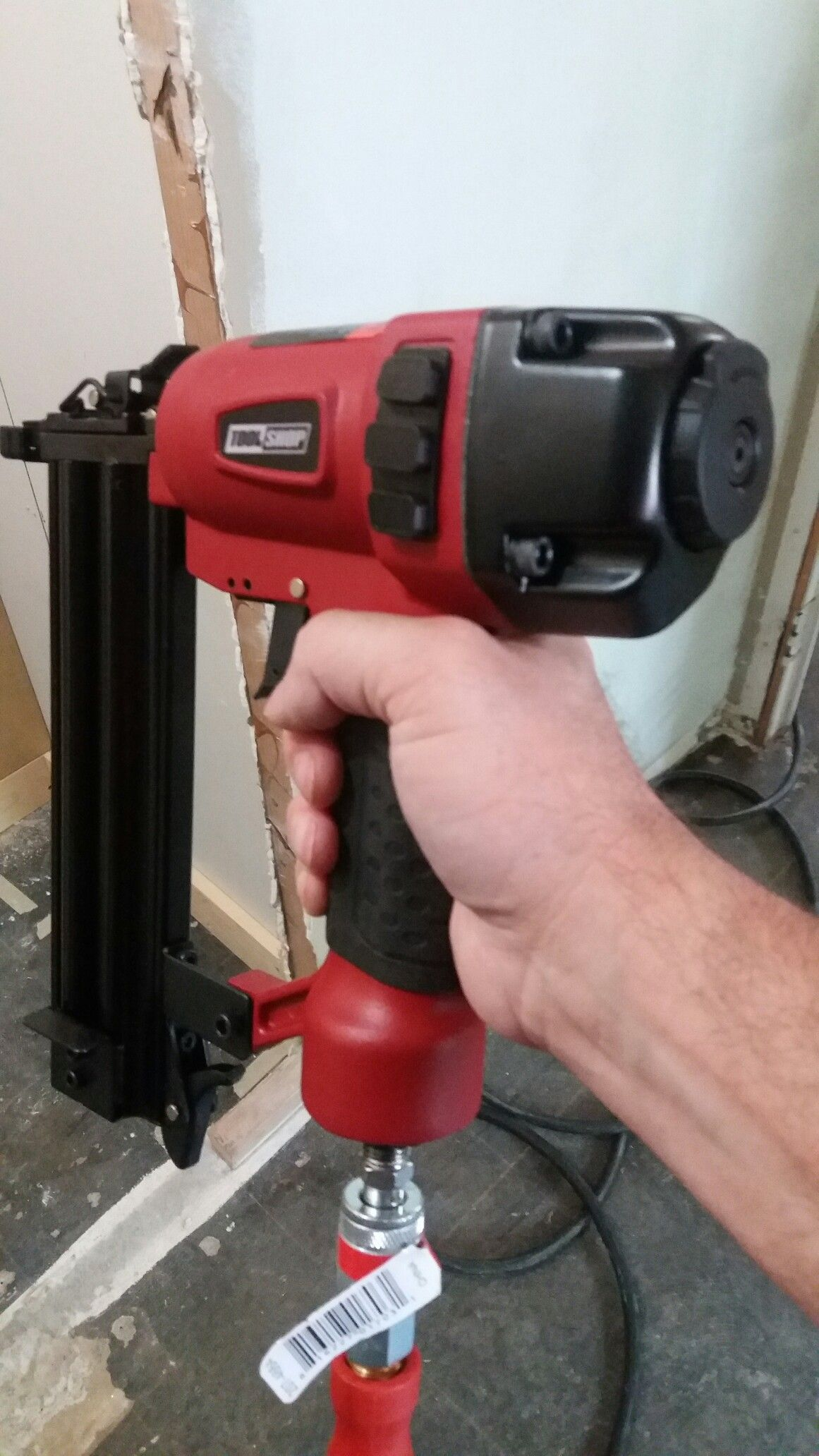 Brad nailers are about the handiest air tool you can buy