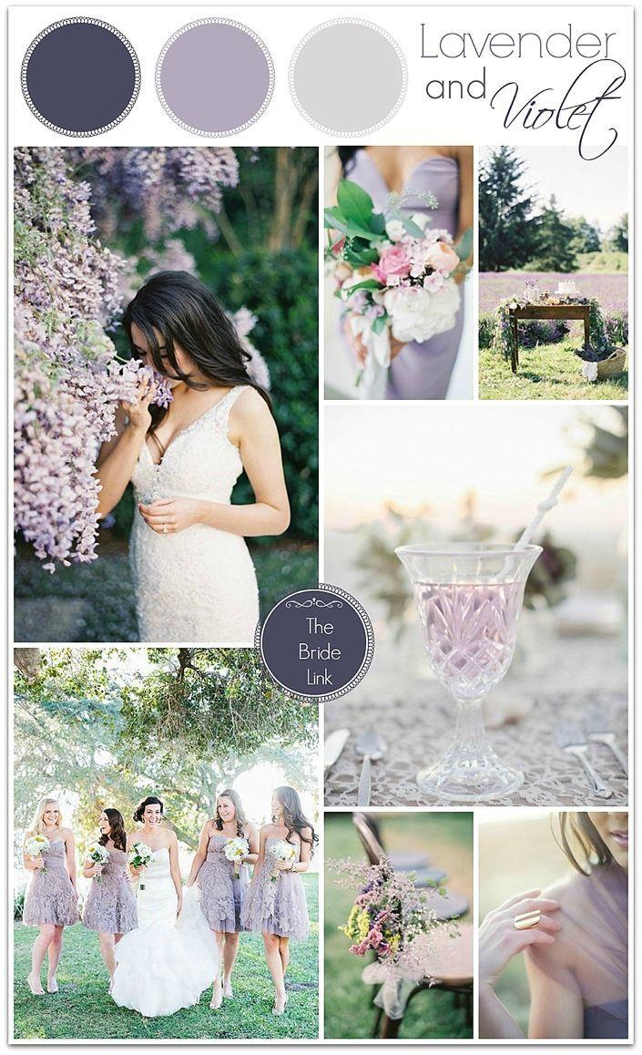 Lavender Wedding Inspiration | Lavender weddings, Wedding things and ...