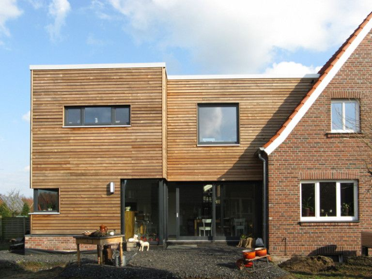 Modern extension to a 50s house part 2  – Anbau