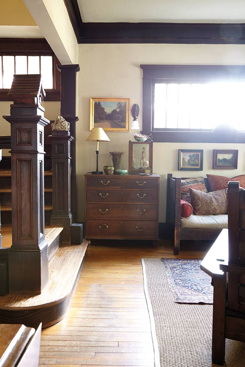 Tour of a craftsman home in atlanta ga craftsman for Craftsman homes atlanta